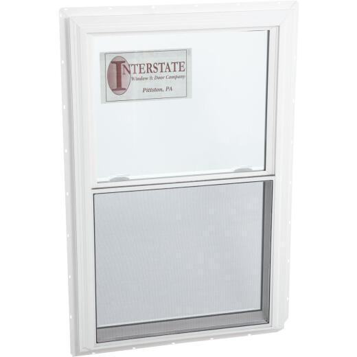 Interstate Model 5100 39 In. W. x 60 In. H. White Vinyl Double Hung Egress Window with South Glass P
