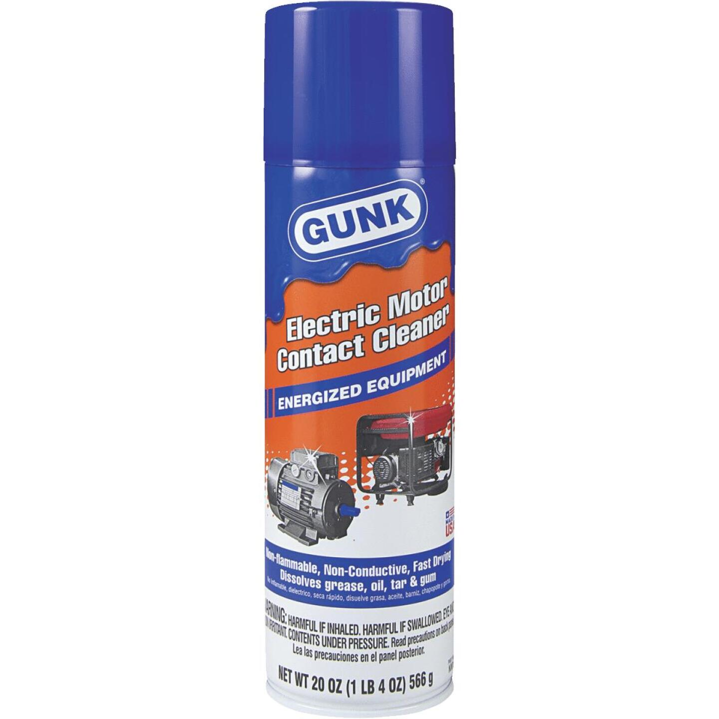 Gunk Electrical 20 Oz. Aerosol Electronic Parts Cleaner Image 1